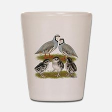 Chukar Family Shot Glass