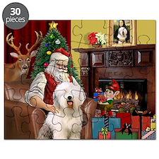 Santa's Old English #6 Puzzle