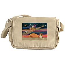Xmas Star/Papillon Messenger Bag