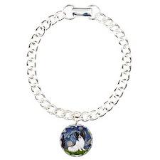 Unique Dog breed Charm Bracelet, One Charm