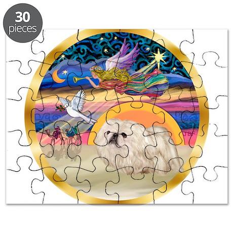 XmasStar/Pekingese (w) Puzzle