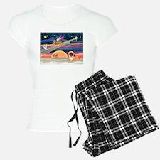 XmasStar/Pekingese #1 Pajamas