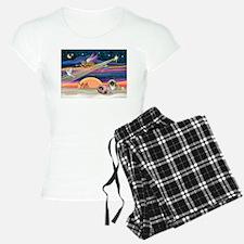 XmasStar/2 Pekingese Pajamas