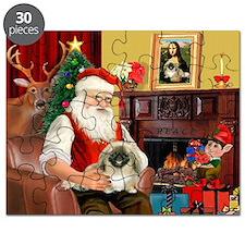 Santa's Pekingese (1b) Puzzle
