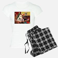 Santa's 2 Pekingese Pajamas