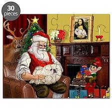 Santa's Pekingese (4W) Puzzle