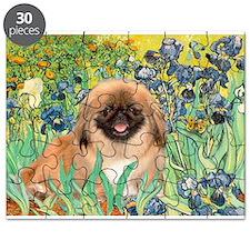 Irises / Pekingese (#1) Puzzle