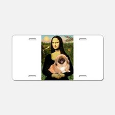 Mona's first Peke Aluminum License Plate