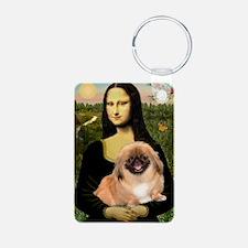 Mona's first Peke Keychains