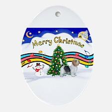 XmasMusic1/PBGV #9 Ornament (Oval)