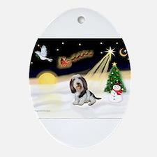 XmasDove/PBGB #5 Ornament (Oval)