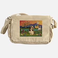 PBGV in Fantasy Land Messenger Bag