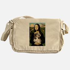 Mona & Her PBGV Messenger Bag