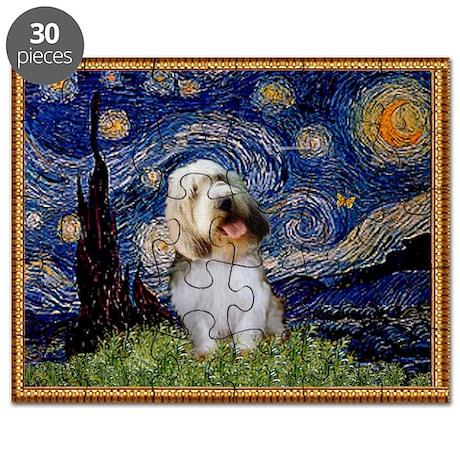 Starry Night PBGV Puzzle