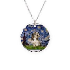 Starry Night PBGV (#4) Necklace