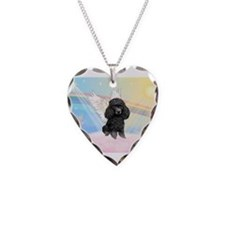 Angel /Poodle (blk Toy/Min) Necklace
