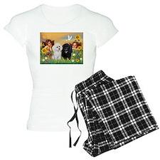 Angels & Poodle Pai Pajamas