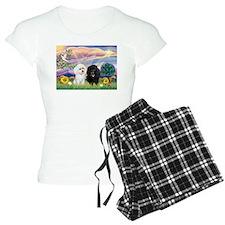 Cloud Angel & 2 Poodles Pajamas