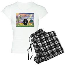 Cloud Angel & Poodle #17 Pajamas
