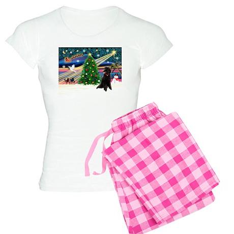 XmasStar/Poodle (ST-B) Women's Light Pajamas