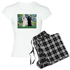 Bridge & Poodle Pair Pajamas