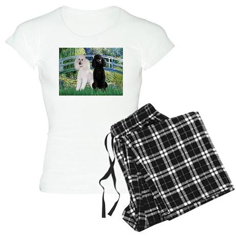 Bridge & Poodle Pair Women's Light Pajamas