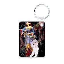 Ophelia #1-Poodle Pair (ST) Keychains
