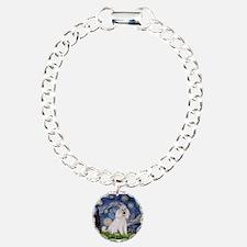 Starry Night White Poodle (ST Bracelet