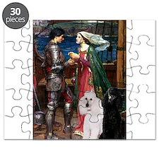 Tristan Poodle Pair (St) Puzzle