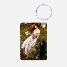 Windflowers Standard Poodle ( Keychains