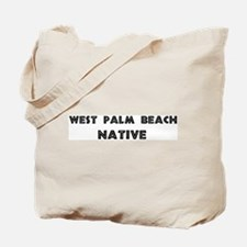 West Palm Beach Native Tote Bag