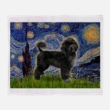 Starry Night / PWD (#2) Throw Blanket