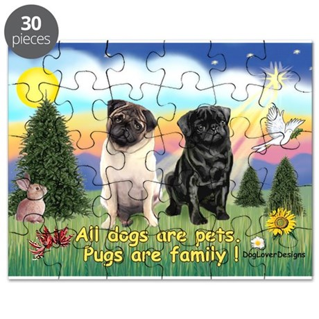 Pugs are Family (2) Puzzle