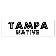 Tampa Native Bumper Bumper Sticker