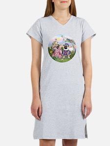 Sir Pug & Princess Women's Nightshirt