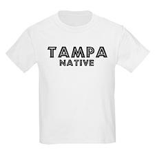 Tampa Native Kids T-Shirt