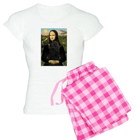 Mona Lisa (new) & Puli Women's Light Pajamas