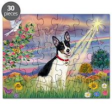 Cloud Angel & Rat Terrier Puzzle