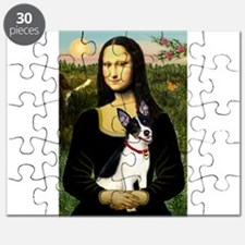 Mona & Rat Terrier Puzzle