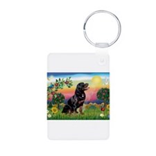 Bright Country with Rottweiler Keychains