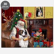 Santa's Saint Bernard Puzzle