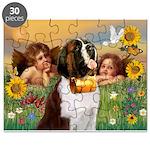 Two Angels & Saint Bernard Puzzle