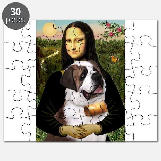 Cute Saint bernards Puzzle