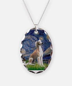 Cute Saluki Necklace