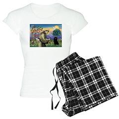 St Francis / Schipperke Pajamas