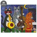Jazz Cats Puzzle