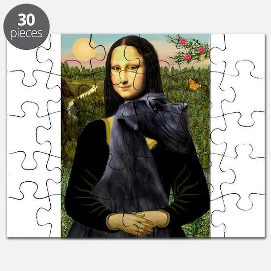 Mona & Giant Schnauzer Puzzle