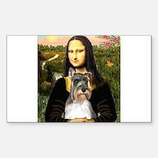 Mona's Schnauzer Decal