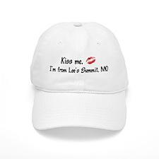 Kiss Me: Lee's Summit Baseball Cap