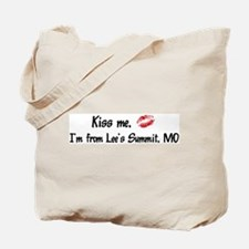 Kiss Me: Lee's Summit Tote Bag